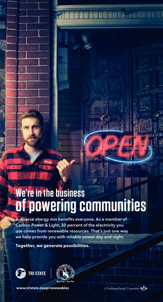 We're in the Business of Powering Communities
