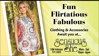 Clothing & Accesories Await for You