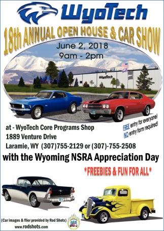 18th Annual Open House & Car Show