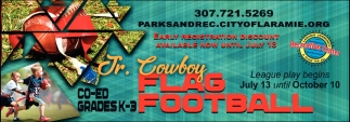 Jr. Cowboys Flag Football