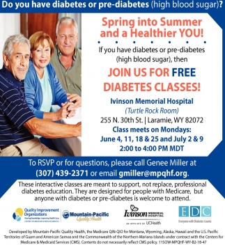 Do You Have Diabetes or Pre-diabetes (high blood sugar)?
