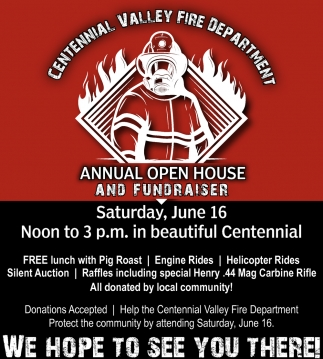 Annual Open House and Fundraiser