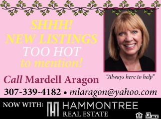 Shhh! New Listings Too Hot to Mention!