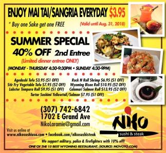 Enjoy Mai Tai/Sangria Everyday