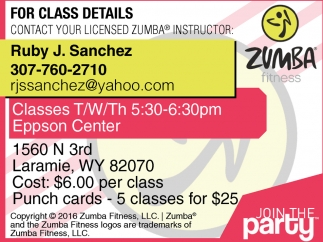 For Class Details