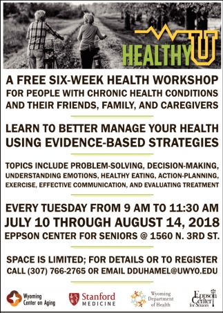 A Free Six-Week Health Workshop