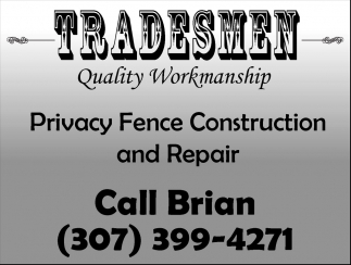 Privacy Fence Construction and Repair