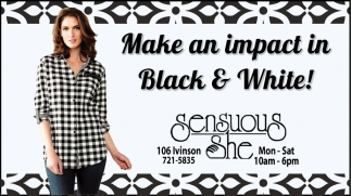 Make an Impact in Black & White!