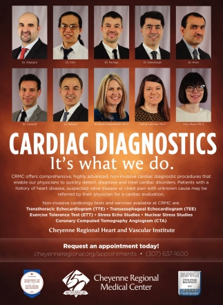 Cardiac Diagnostics it's what we do