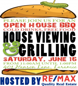 Please Join us for an Open House BBQ