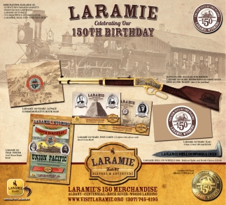 Laramie Celebrating 150th Birthday