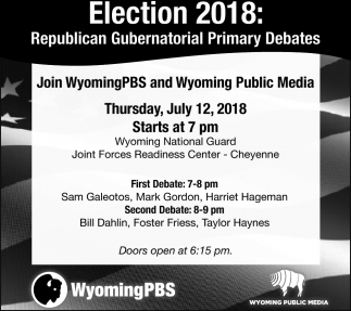 Republican Gubernatorial Primary Debates