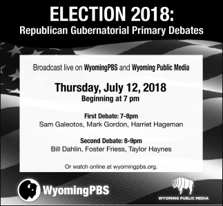 Republican Gubernatorial Primary Debates