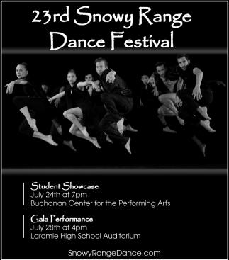 23rd Snowy Range Dance Festival