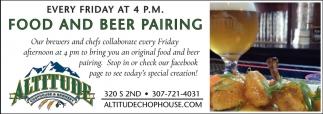 Food and Beer Pairing