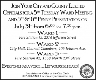 Join Your City and County Elected Officials