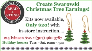 Create Swarovski Christmas Tree Earnings