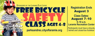 Free Bicycle Safety Class