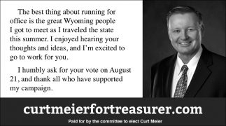 The Best Thing for Running for Office is the Great Wyoming People