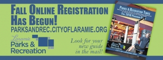 Fall Online Registration Has Begun!
