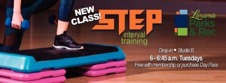 New Class! Step Interval Training