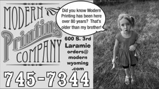 Modern Printing Company