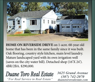 Home on Riverside Drive
