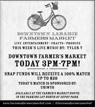 Downtown Laramie Farmer's Market