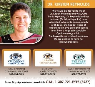 Dr. Kristen Reynolds