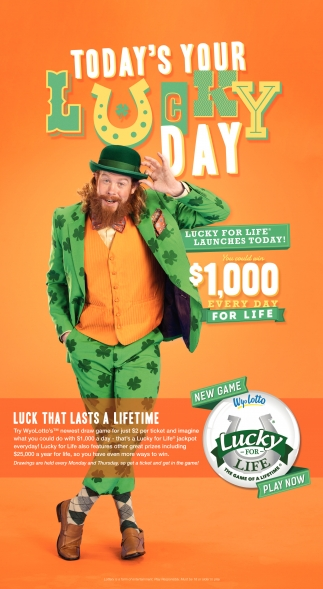 Today's your lucky day
