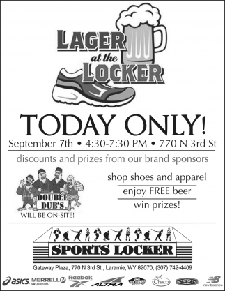 Lager at the Locker