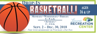 Drop-In Basketball!