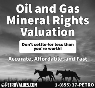 Oil and Gas Mineral Rights Valuation