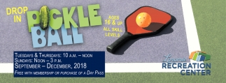 Drop-In Pickle Ball