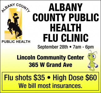 Albany County Public Health Flu Clinic