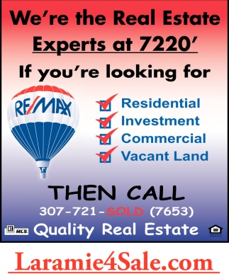 We're the Real Estate Experts at 7220