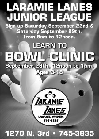 Laramie Lanes Junior League