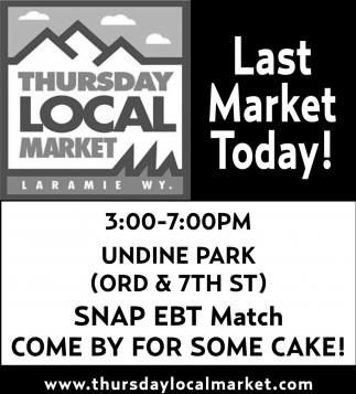 Last Market Today!