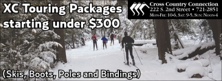 XC Touring Package starting under $300