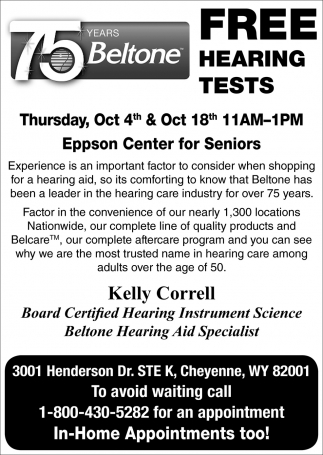 Free Hearing Test