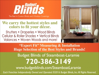 We Carry the Hottest Styles and Colors to Fit your Decor