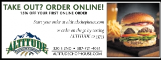 15% OFF Your First Online Order