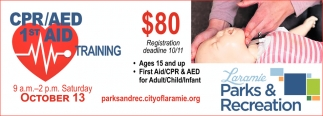 CPR/AED 1st Aid Training