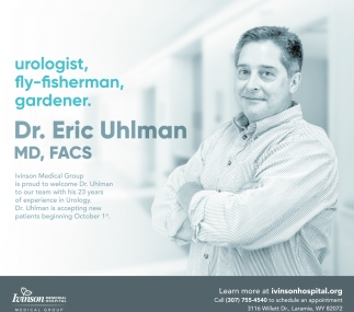 Welcome Dr. Eric Uhlman