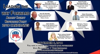 2018 Candidates