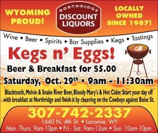Kegs n' Eggs!