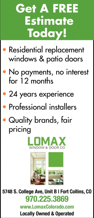 Get a Free Estimate Today