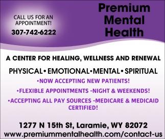 A Center for Healing