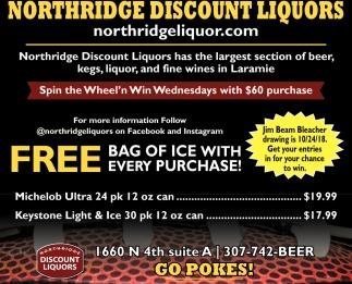 Free Bag of Ice