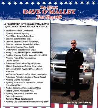Dave O'Malley for Sheriff